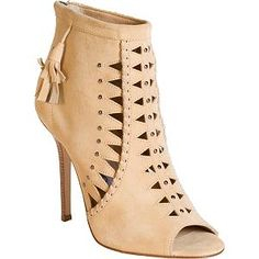 Jimmy Choo Suede 'Zigzag' Ankle Boots - Size 8.5 / 38.5