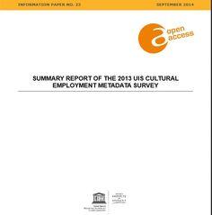 Enquesta de metadades sobre ocupació en el sector cultural. Via interacció http://cercles.vtlseurope.com:8098/arxius/pdf/E140216.pdf