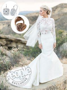 Morgan Stewart wedding two-piece ❤️