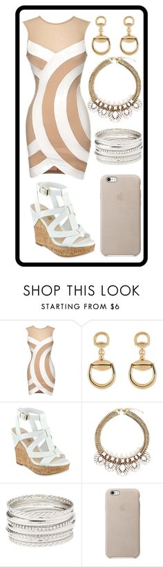 """""""314: Fancy Dress"""" by alinepelle ❤ liked on Polyvore featuring Gucci and Charlotte Russe"""
