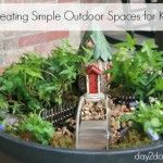 Creating Simple Outdoor Spaces for Kids
