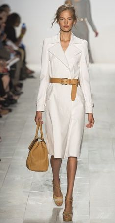 All white on Michael Kors | Spring 2014 Fashion Trends