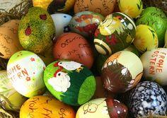 No hay Pascua sin huevos http://www.dondedijehuevodigodagu.com/post/46414926699/huevo-pascua-semana-santa