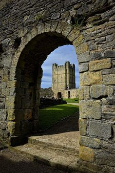Richmond Castle, Yorkshire, UK