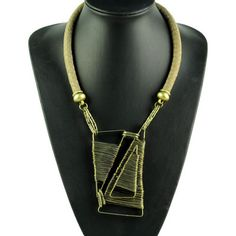 Vintage Costume Jewellery Big Chunky Necklace High-end Jewelry