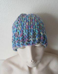 Crochet Ponytail HatReady-to-Ship HatWarm Hat by TissysTreasures