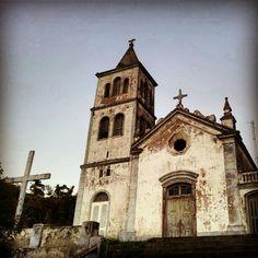 igreja acoriana em Garopaba - Photo by estelaarocha