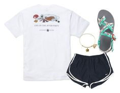 """""""Won my regional xc meet!"""" by nc-preppy ❤ liked on Polyvore featuring Southern Proper, NIKE and Chaco"""