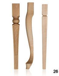 producent nogi z drewniana