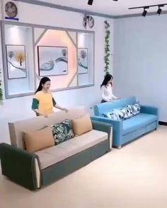 Room Design Bedroom, Living Room Sofa Design, Bedroom Furniture Design, Home Room Design, Bed Furniture, Home Decor Furniture, Bedroom Decor, Corner Sofa Design, Sofa Bed Design