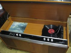 $350 VINTAGE RECORD PLAYER His Masters Voice Solid State Stereo System Text 0411691171 or email info@bitspencer.com