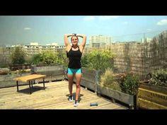 Comment maigrir rapidement des bras avec Marine Leleu┃ELLE Fitness - YouTube