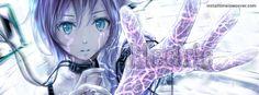 Electric Misc Anime Girl  Facebook Cover InstallTimelineCover.com