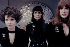 Three female humans