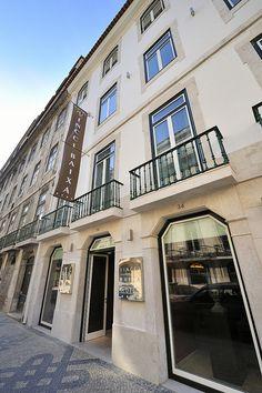Fachada Vincci Baixa 4* (Lisboa)