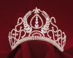 Fabulous Star Silver and Rhinestone Quinceanera Tiara! specialoccasionsforless.com