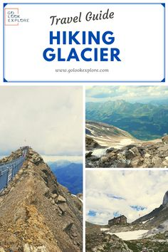 If you want to see one of the existing Swiss glaciers, Glacier 3000 is a very good choice. Hike is not easy, but really rewarding. Visit Switzerland, Switzerland Summer, Hiking Guide, Hiking Trails, European Travel Tips, Colorado Hiking, Explore Travel, Africa Travel, Beach Fun