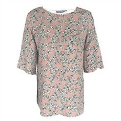 Shop Women's Clothing Online 2 | Wild South - VISCOSE KEYHOLE FRONT BLOUSE