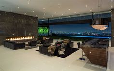 This modern masterpiece boasts the best views in Bel-Air. Sitting high above the city, this striking contemporary home has explosive views of Los Angeles - and the Pacific ocean. Designed...