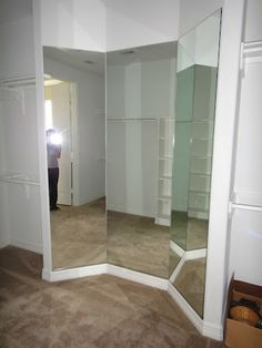 Three Way Mirror