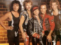 "The Scorpions were included in the famous "" Hollywood Rock Wall"" The event took place in the presence of many fans. The Scorpion boys joined some big musical 80s Metal Bands, 80s Hair Metal, Hair Metal Bands, 80s Rock Bands, Heavy Metal, Heavy Rock, Metal Fan, 80s Music, Rock Music"