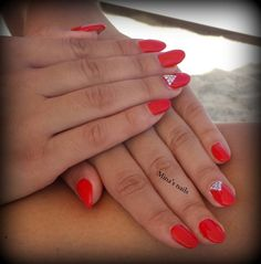 Maria's fire nails!!! love them