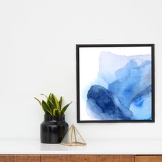 Abstract Canvas Art Print Large Abstract by LikeWilliamStudio