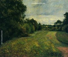 Camille Pissarro The backwoods of St. Antony, Pontoise, 1876 oil painting for sale, painting Authorized official website