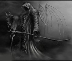 heres yet another version of the Grim Reaper. I decide to do this because my old version seemed to have more favorites than any of my other pics. Angel of Death AKA Grim Reaper Grim Reaper Art, Grim Reaper Tattoo, Don't Fear The Reaper, Death Reaper, Dark Fantasy Art, Dark Art, Fantasy Artwork, Angel Of Death Tattoo, Skull Artwork