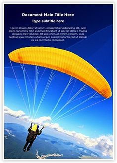 Paragliding Word Document Template is one of the best Word Document Templates by EditableTemplates.com. #EditableTemplates #PowerPoint #templates Activity #Airplane #Hang #Funsports #Parachute #Hang Gliding #Outdoors #Silence #Unpowevolplane #Horizon #Mode Of Transport #Wild #Ice #Brave #Mp #Season #Air #Fun #Action #Summer #Mid-Air #Air Vehicle #Freedom #Paragliding #Outdoor #Albird #Air # Transportation #Extreme Sports #Transport #Unforgettable #Risk #Day #Sky #Scary #Solitude #Fall…
