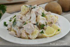 L' INSALATA di POLLO TONNATA e' un secondo piatto leggero e gustoso che contiene le giuste calorie e si prepara in poco tempo