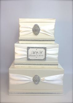 230 best Elegant Wedding Card Boxes Unique images on Pinterest in ...