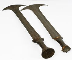 African 19th Century Tribal Swords, Lot of Two | Bidsquare