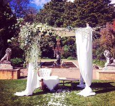 Wedding venue // the pavillion, Fitzroy Gardens   Victoria    garden wedding