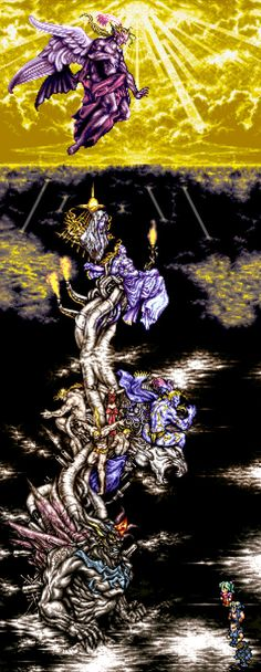 Dancing Mad - Kefka's Tower by ~Phead on deviantART
