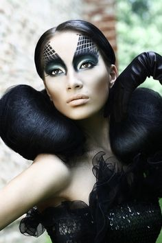 Artistic and creative makeup