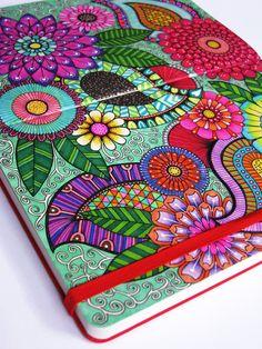 coloured doodles - hello angel