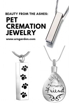 Beauty from the Ashes: Pet Cremation Jewelry | Life in the Garden