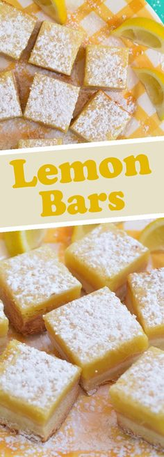 This Lemon Bar Recipe needs just 5 ingredients that you most likely already have at home. They're easy to make and are perfect for parties, barbecues, picnics, showers, or for a simple dessert after Sunday dinner.