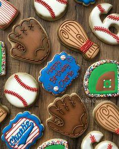 & After having 3 girls and doing all things birthday boy party ideas. More in my web site Baseball birthday cookie set! & After having 3 girls and doing all things . Baseball Birthday Cakes, 1st Birthday Boy Themes, Sports Birthday, Boy First Birthday, Birthday Cookies, Boy Birthday Parties, Baseball Cakes, Birthday Ideas, Baseball Tips
