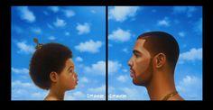 """Drake: """"Blue Ivy Carter no está en la portada de mi disco"""""""