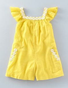 Floaty Daisy Playsuit
