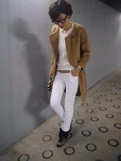 お手本にしたい着こなしが満載!モデル・田丸麻紀のUNIQLOコーデ術 Japanese Models, Japanese Fashion, Chic Outfits, Fashion Outfits, Womens Fashion, Winter Stil, Business Attire, Petite Fashion, Jeans Style