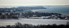 Inselblick von Insel Hiddensee im Winter von Robert Ott