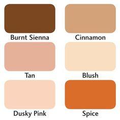 Letraset - ProMarker 6 Set - Skin Tones 2