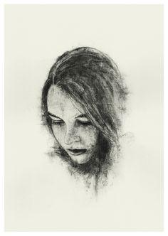 Watersoluble sketching pencil on paper, Richard Stark ART Pencil Drawings, Behance, Portrait, Illustration, Sketching, Faces, Art, Drawings In Pencil, Behavior
