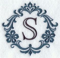 Machine Embroidery Designs at Embroidery Library! - Damask Alphabet