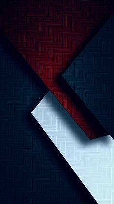 Red White and Blue Geometric Wallpaper