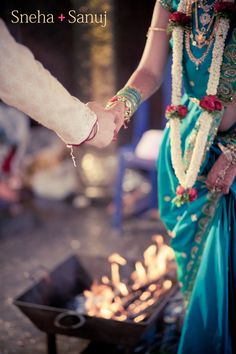 Sneha + Sanuj: Wedding (Temple wedding in Bangalore) by Abhinay Omkar, via Behance