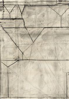 Richard Diebenkorn -charcoal on paper